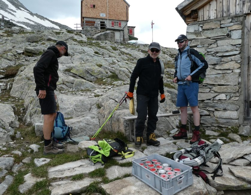 Wegebau Barmer Hütte Arbeitsvorbereitung
